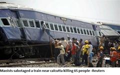 Maoists' sabotage
