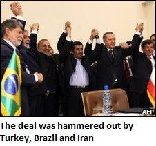 Turkey's Iran nuke deal