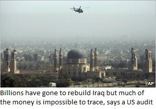 Audit of Iraq war money