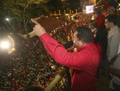 Chavez hails election win