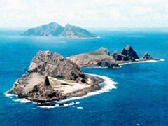 Diaoyu or Senkaku islands