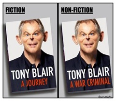 Protest against Blair's Book Signing