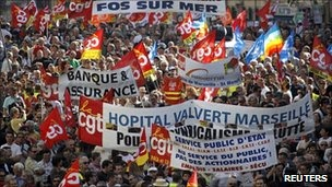 France protests on 2nd Oct