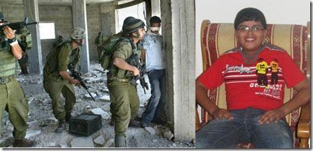Gaza boy, Majid Rabah