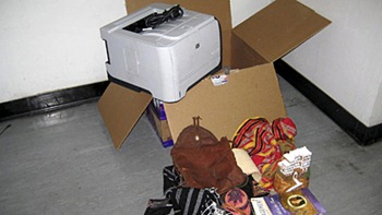 Yemeni parcel bomb