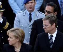 Angela and Westerwelle