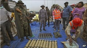 Arms smuggling -BBC