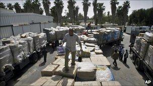 Gaza imports