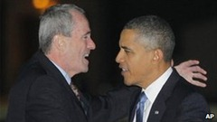 Murphy with Obama