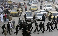 Egypt riot police